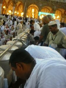 Amazing Zamzam inside Masjidil Haram